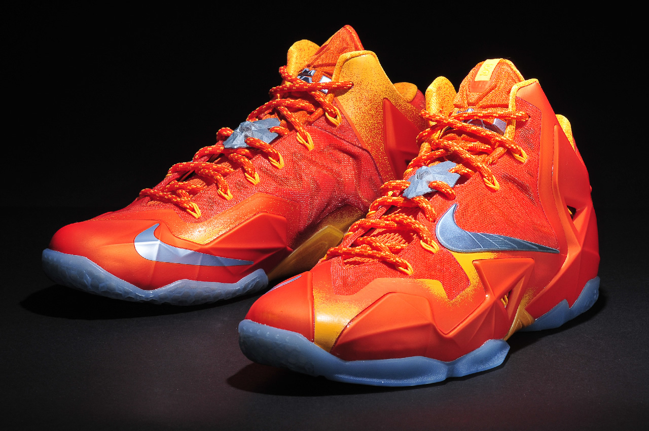 Lebron 11 Forging Iron 1 | Kicksworth