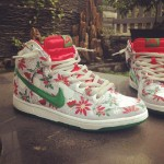 Nike Dunk High Premium SB Ugly Christmas Sweater 3