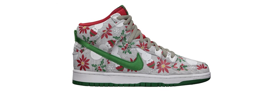 Nike Dunk High Premium SB Ugly Christmas Sweater