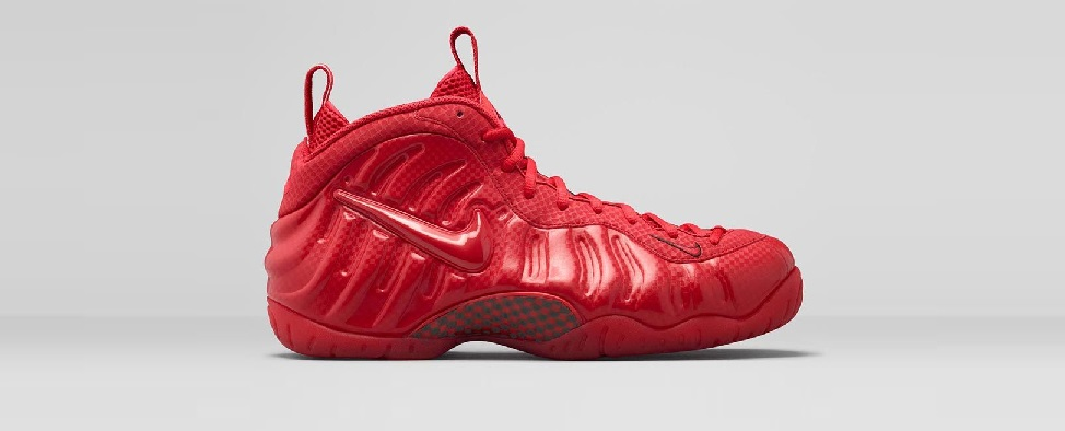 Foamposite Gym Red
