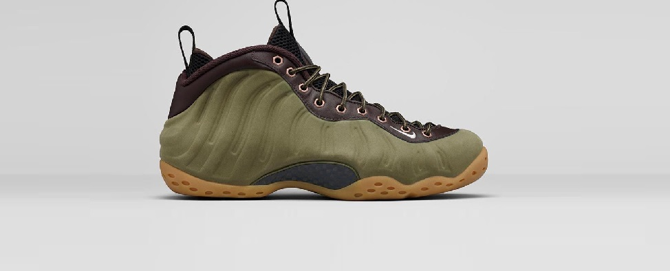 Foamposite Olive
