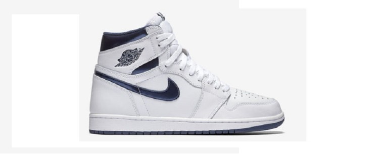 Jordan 1 Metallic Navy